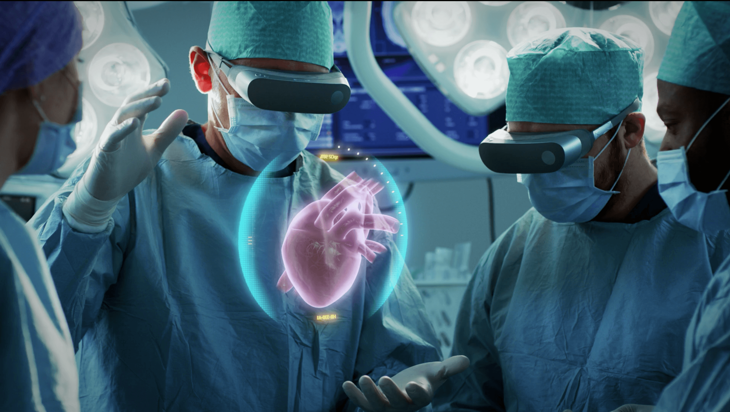 surgeon doctor augmented reality healthcare