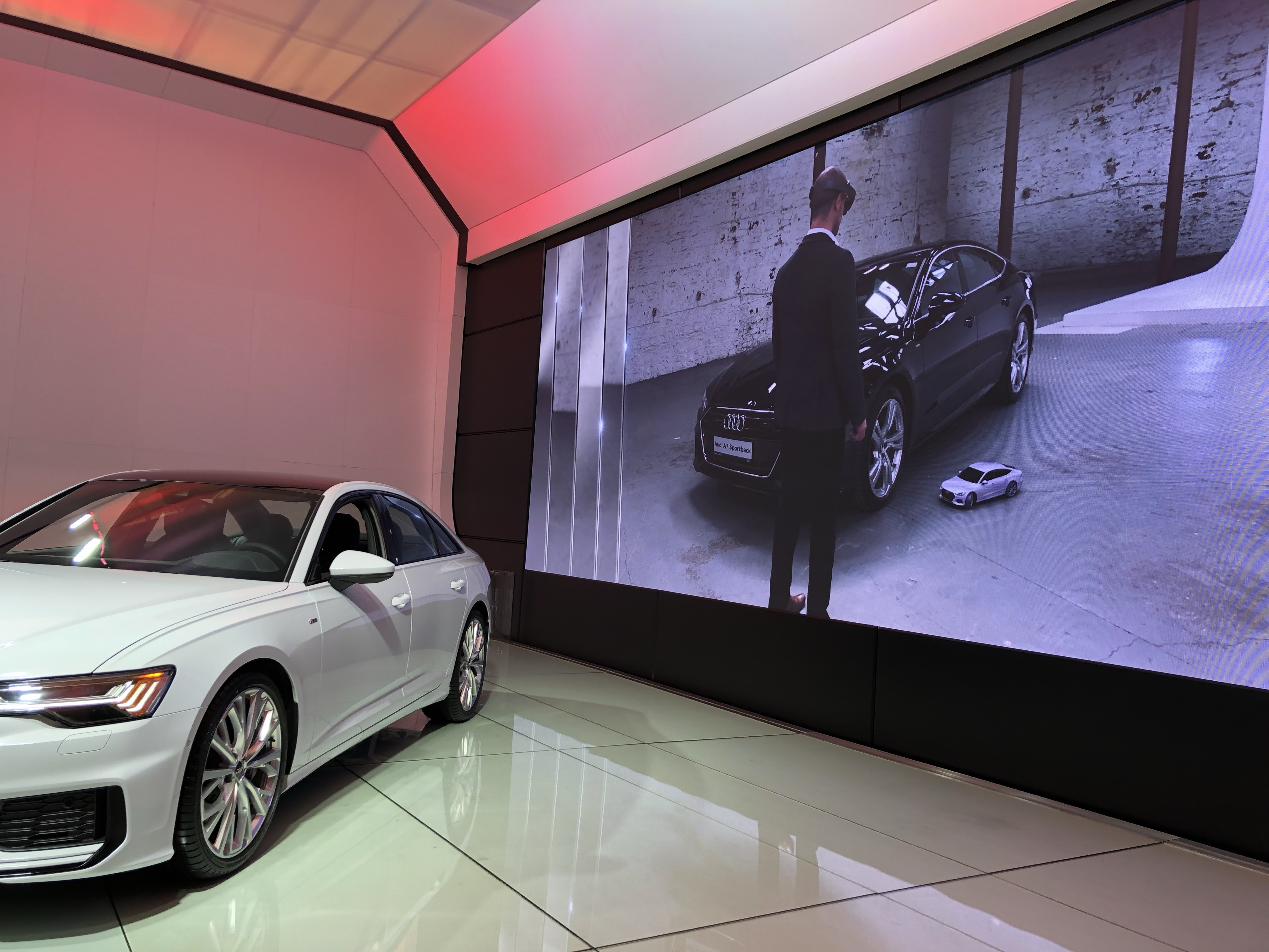 Audi Augmented Reality Experience