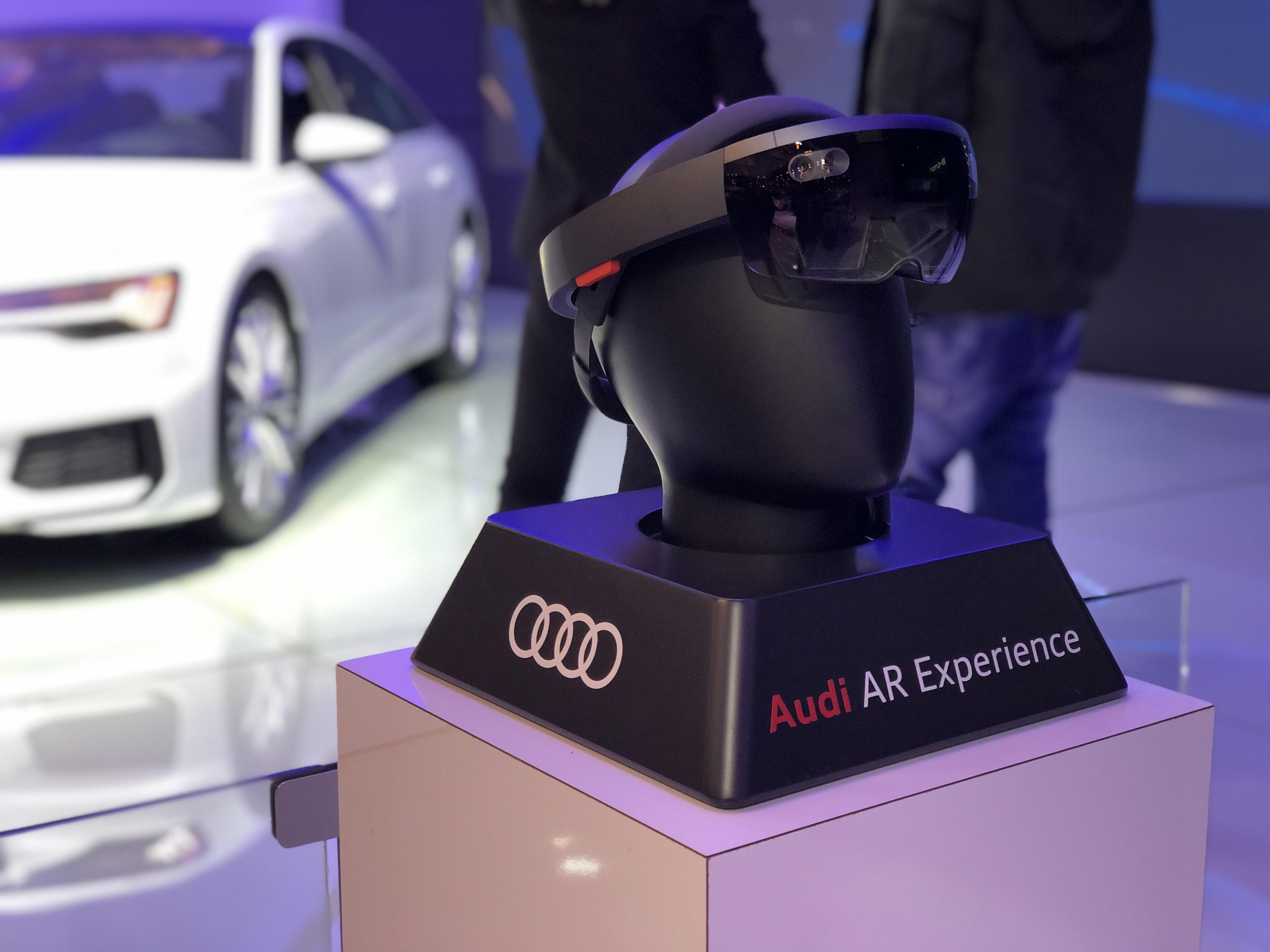 Audi vStream AR